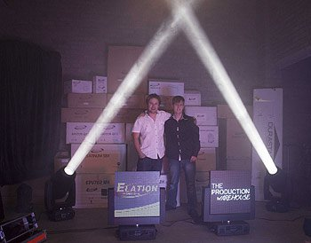 elation partners with the production warehouse