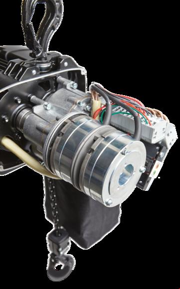GIS Hoist brake system
