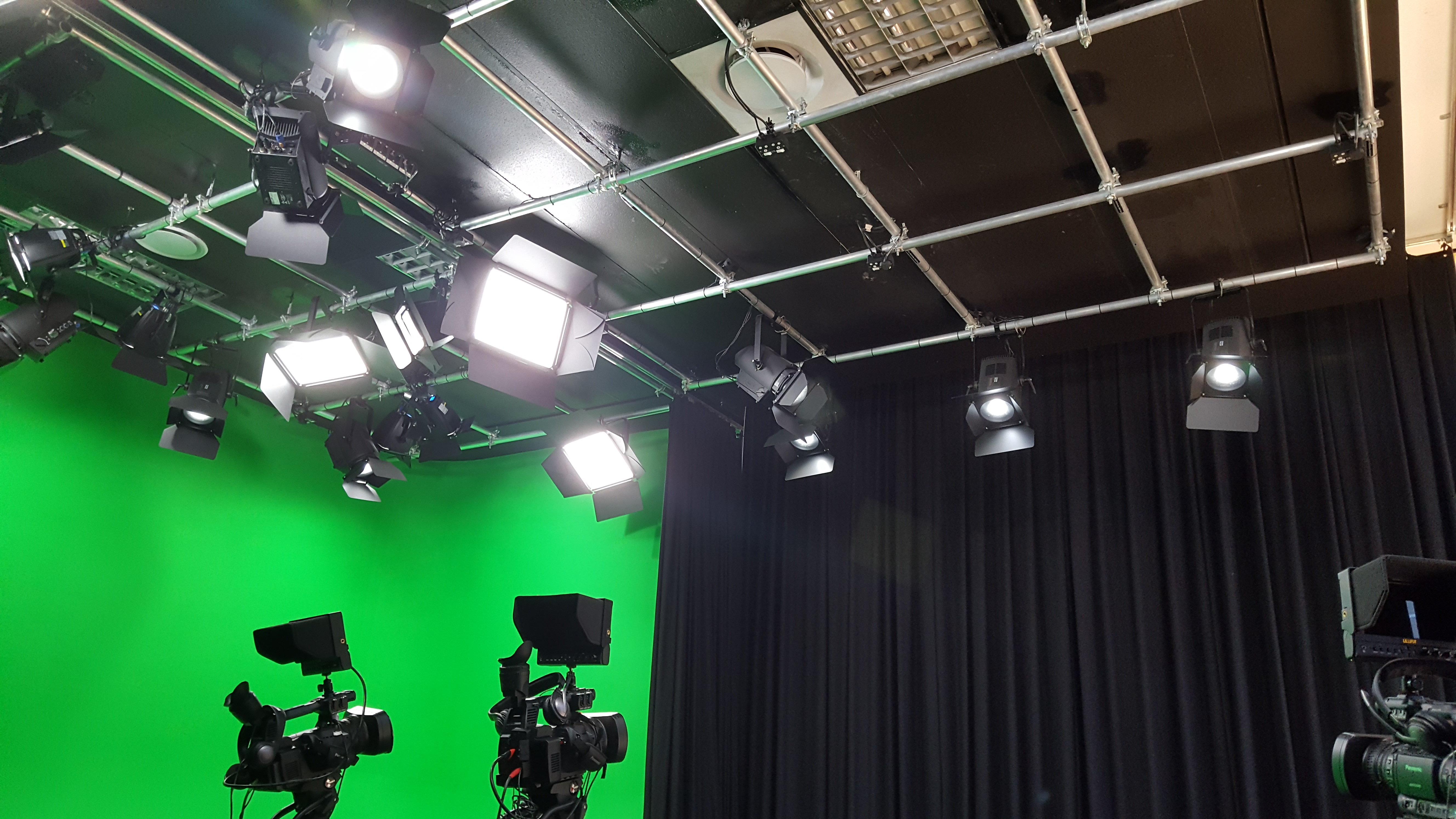 New multi-cam studio for City Varsity.