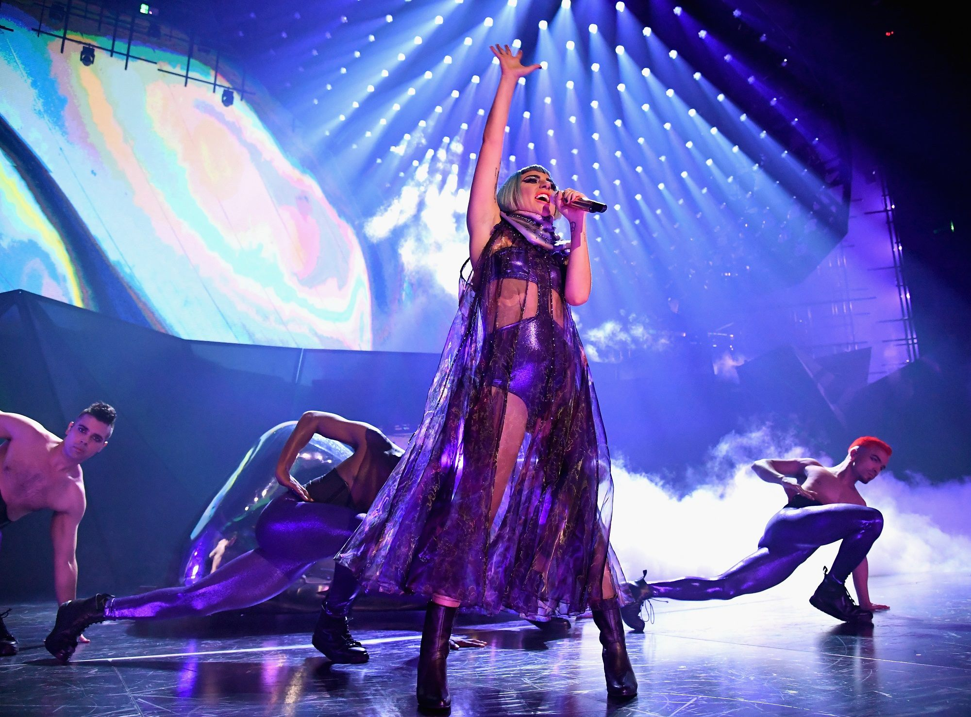 Over 230 DARTZ 360 fixtures featured on Lady Gagas Enigma show